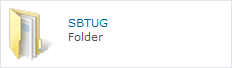 Click here to view all the SBTUG downloads